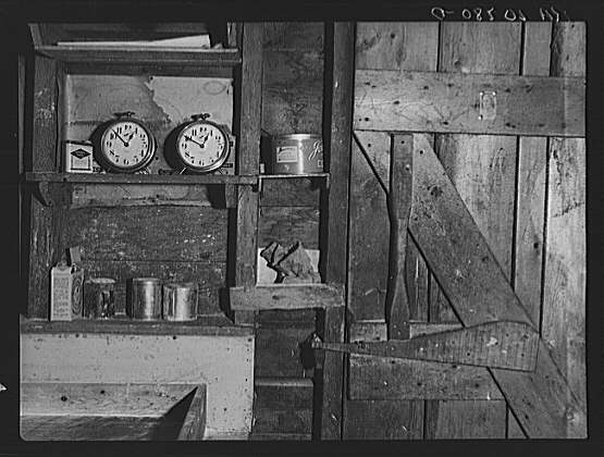 Mess Hall in Lumber Camp